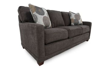 La z boy kennedy granite sofa mathis brothers furniture for Sofa bed 91762