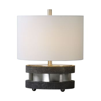 Uttermost Rivard Brushed Nickel Lamp