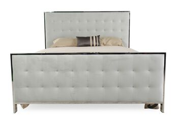 Bernhardt candace king panel bed mathis brothers furniture for Sofa bed 91762
