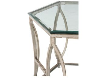 Magnussen Home Nevelson Hexagonal End Table