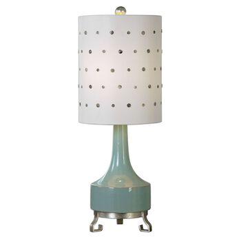 Uttermost Cayucos Pistachio Green Lamp