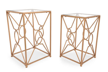 Ashley Marxim Gold Accent Tables