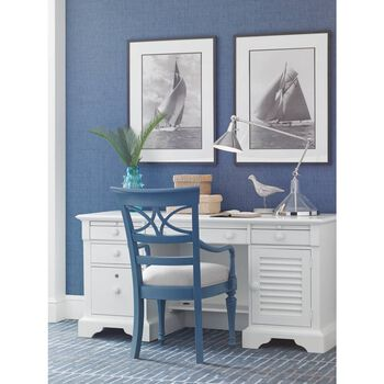Stanley Coastal Living Retreat Gloucester Grey Sea Watch Arm Chair