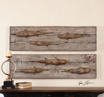 Uttermost On The Dock Wall Art S/2