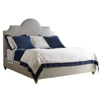 Stanley Coastal Living Retreat Heron Grey Honeycomb Breach Queen Inlet Bed