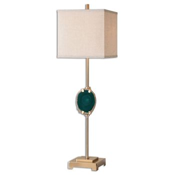 Uttermost Achates Emerald Agate Buffet Lamp