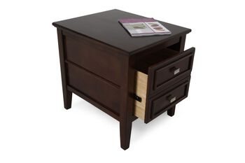Ashley Larimer Two Drawer End Table