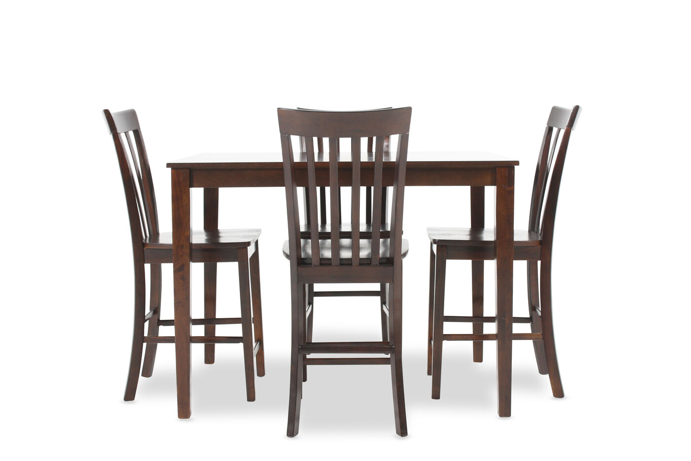 Ashley Hyland Five Piece Pub Set Mathis Brothers Furniture : ASH D258223 A from www.mathisbrothers.com size 1400 x 933 jpeg 86kB