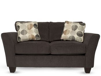 Broyhill maddie loveseat mathis brothers furniture for Sofa bed 91762