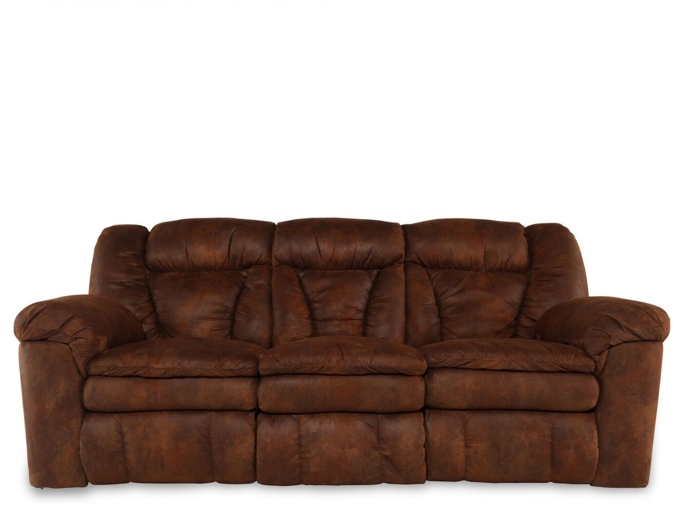 Lane Talon Coffee Reclining Sofa Mathis Brothers Furniture