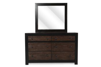 Ashley Emerfield Dresser and Mirror