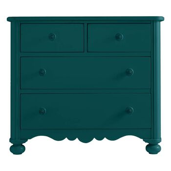 Stanley Coastal Living Retreat Belize Teal Seaside Chest