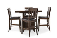 Ashley Haddigan Five-Piece Counter Dining Set