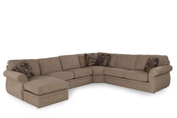 Broyhill Veronica Sectional Mathis Brothers