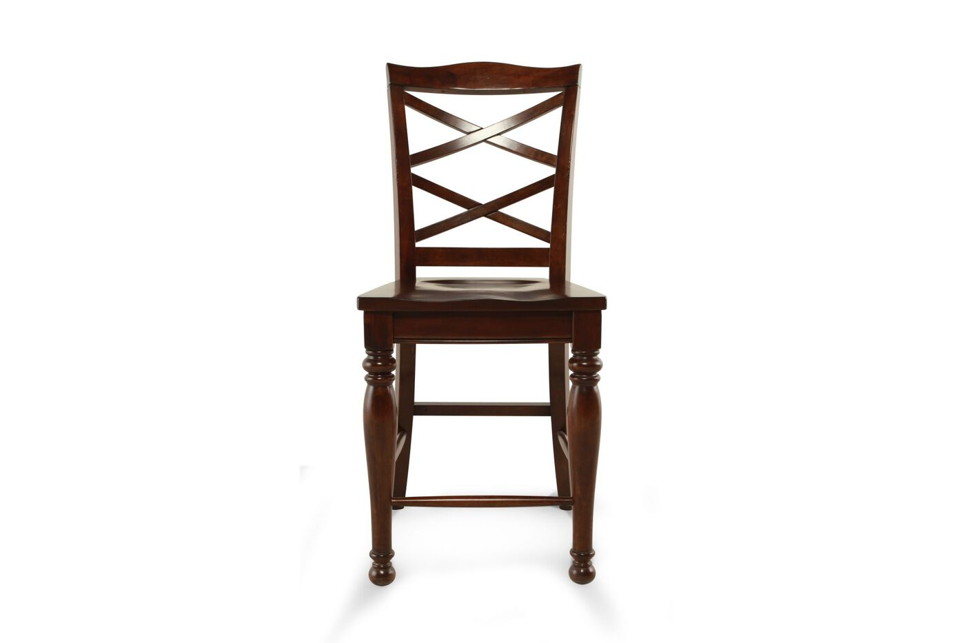 Ashley Porter Pair Of 24 Quot Bar Stools Mathis Brothers