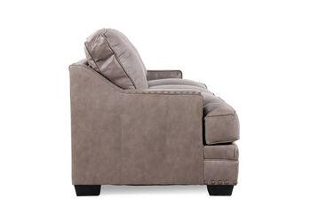 Broyhill Estes Park Leather Sofa