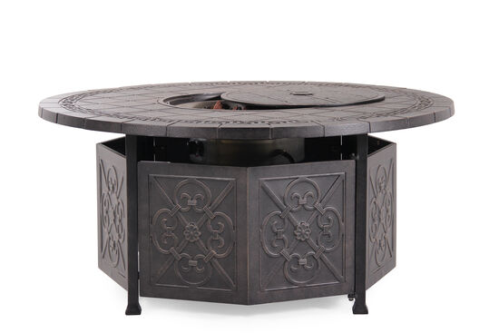 World Source Sonoma Gas Fire Pit Table
