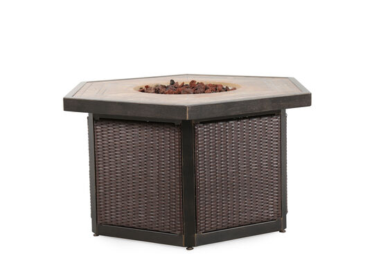 "World Source Oxford 42"" Firepit Table"