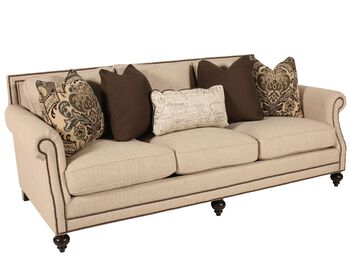 Bernhardt brae sofa mathis brothers furniture for Mathis brothers living room furniture sectional sofas