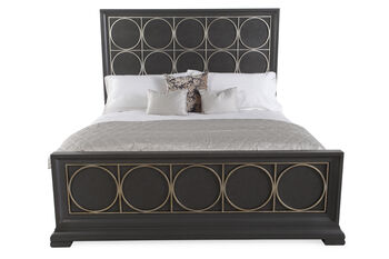 Legacy Moonstone Cal King Panel Bed