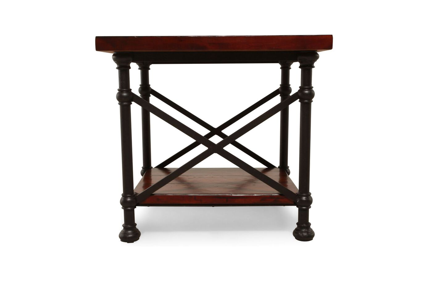Bernhardt vintage patina end table mathis brothers furniture for Bernhardt vintage patina bedroom