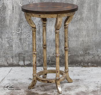 Uttermost Malo Round Accent Table