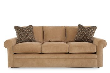 La z boy collins dune sofa mathis brothers furniture for Sofa bed 91762