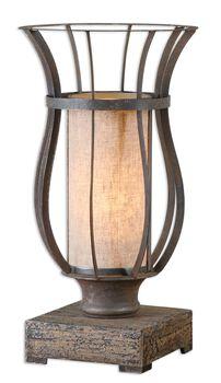 Uttermost Minozzo Bronze Accent Lamp