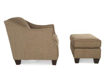 Broyhill Allison Chair and Ottoman
