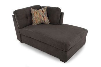 Ashley Delta City Steel Right Arm Facing Chaise