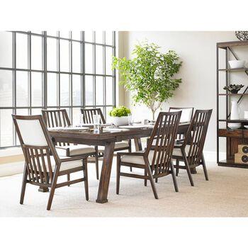 Stanley Newel Date Rectangular Dining Table