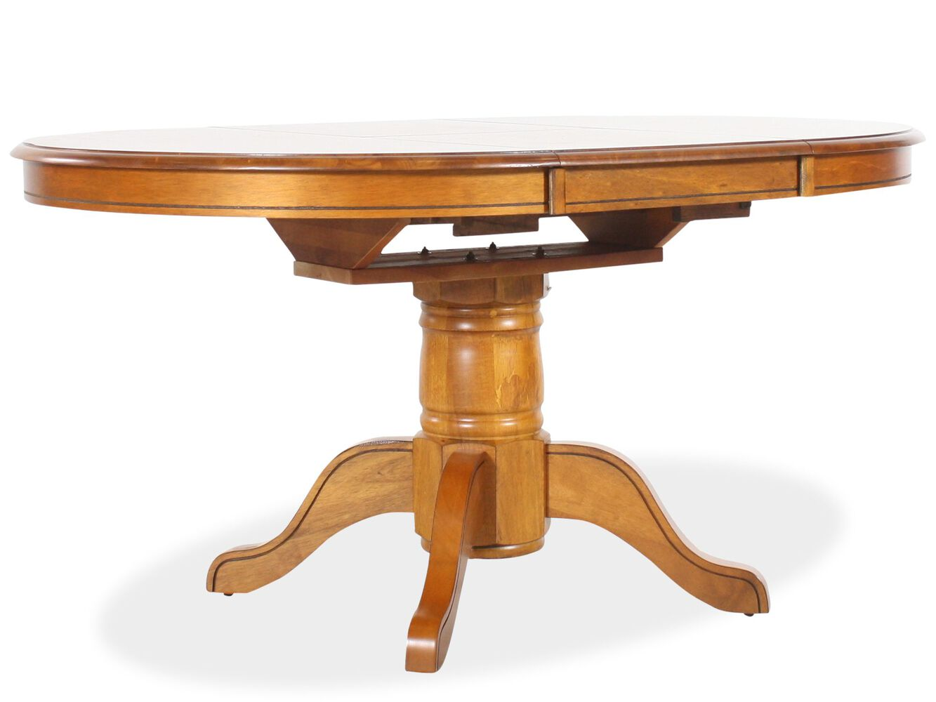 Vintage Oak Dining Table Winners Only Vintage Oak Table Mathis Brothers Furniture