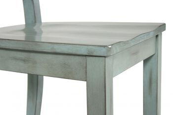 Ashley Mestler Blue Pair of Side Chairs