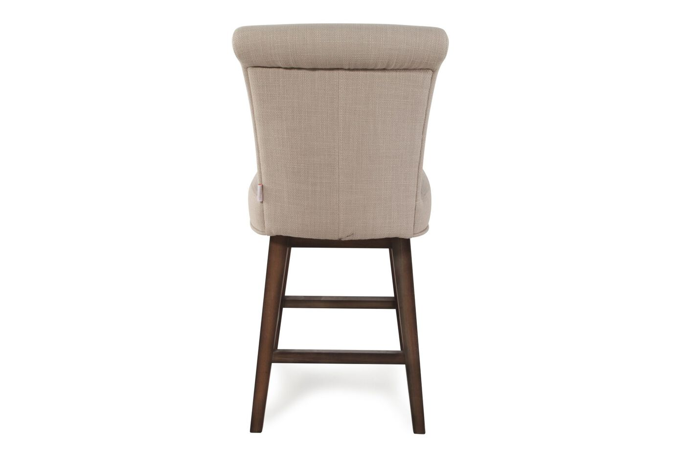 Boulevard Beige Swivel Counter Stool Mathis Brothers