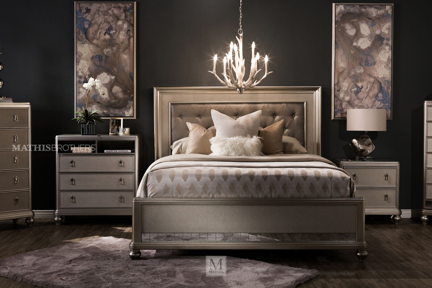 Samuel Lawrence Diva Bed Suite. Samuel Lawrence Diva Bed Suite   Mathis Brothers Furniture