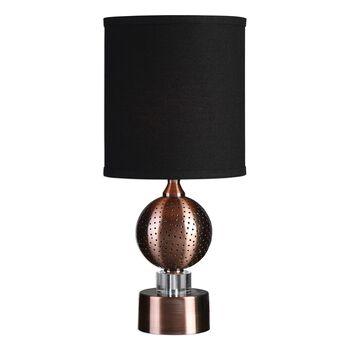 Uttermost Azle Oxidized Copper Lamps
