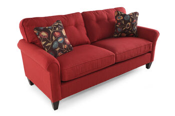 La z boy laurel flame sofa mathis brothers furniture for Sofa bed 91762