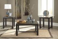 Ashley Joyla Black and Gray Occasional Table Set