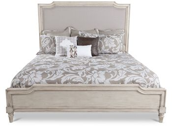 Stanley Classic Portfolio European Cottage Upholstered Bed
