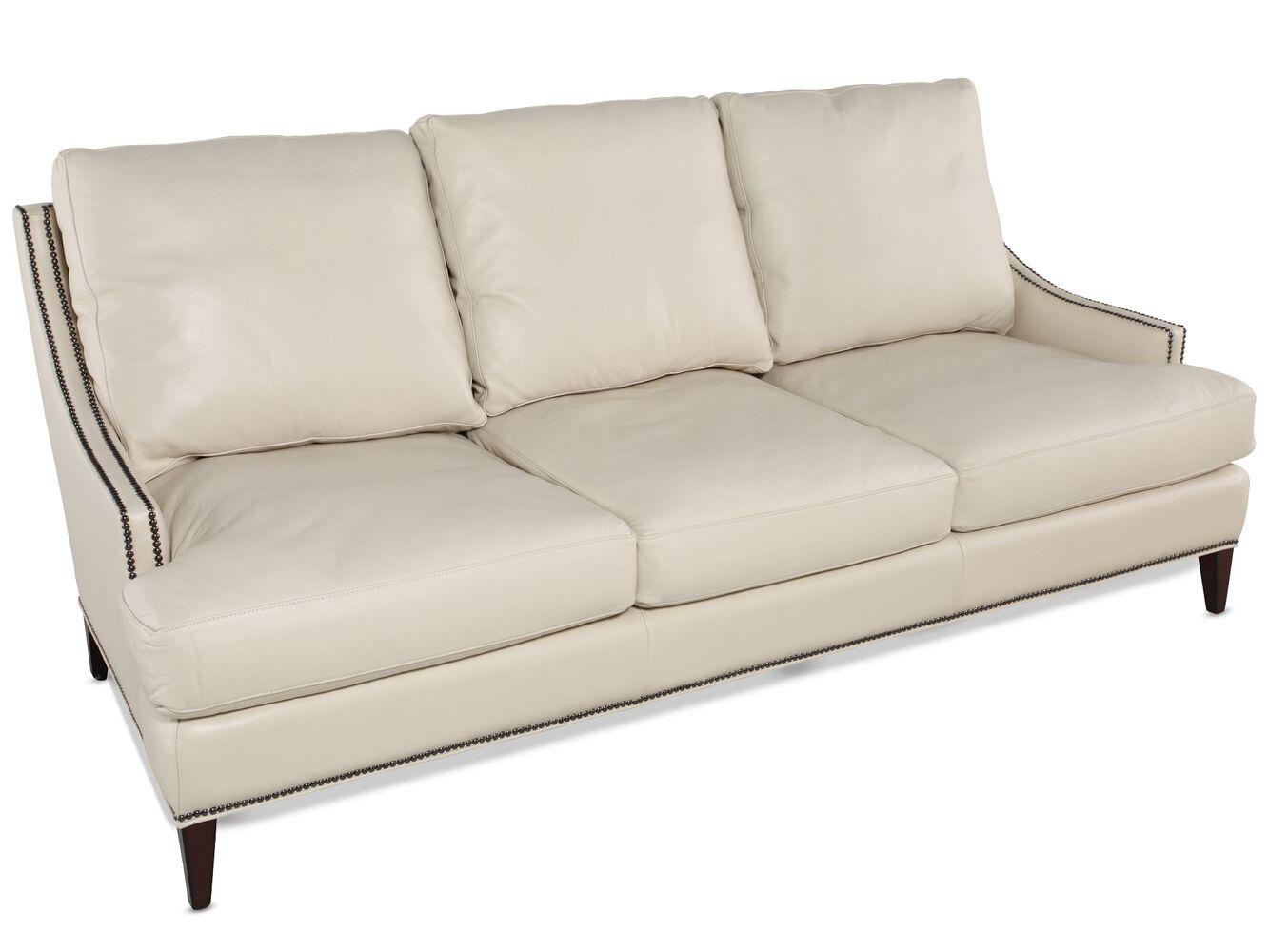 Henredon Leather Sofa Mathis Brothers Furniture