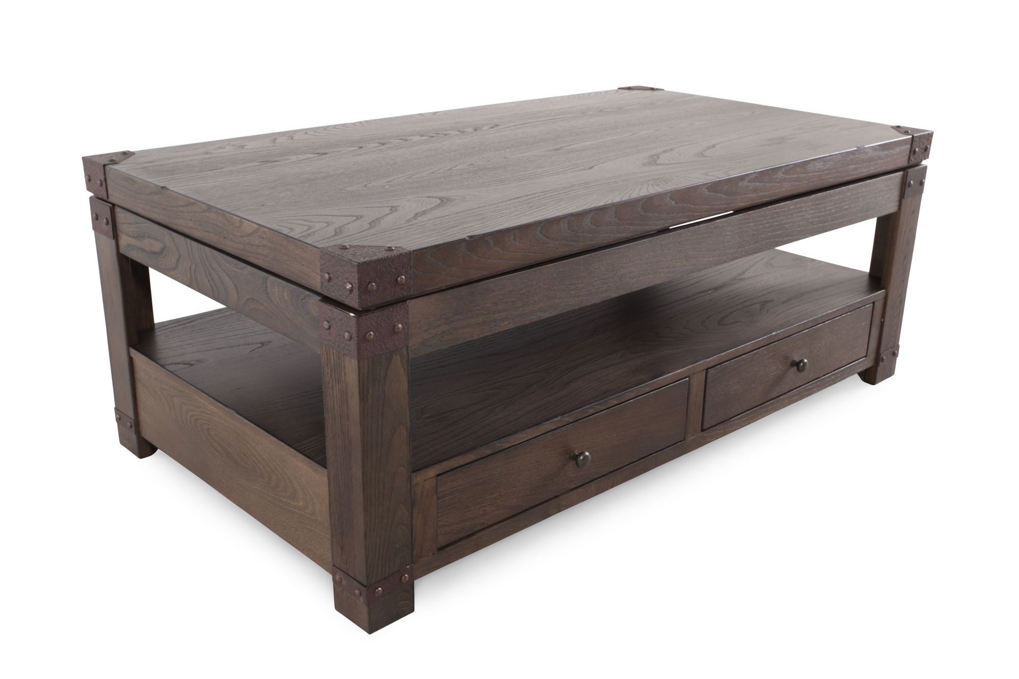 Ashley Burladen Rectangular Lift Top TableMathis Brothers Furniture