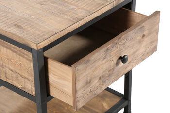 Magnussen Home Maguire Square End Table