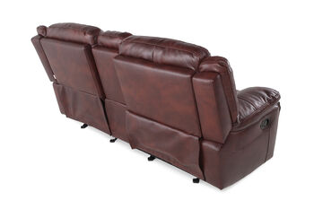 Boulevard Glider Reclining Loveseat with Console