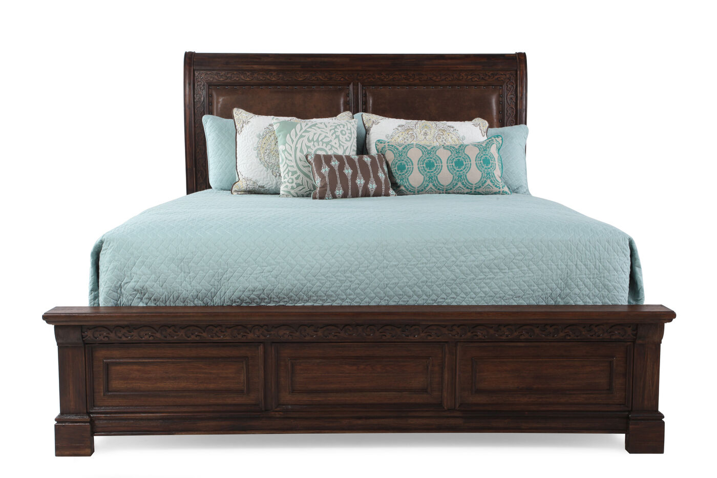 Samuel Lawrence Barcelona Bed Mathis Brothers Furniture