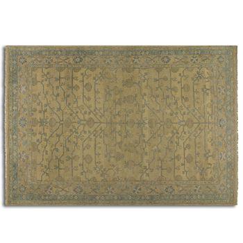 Uttermost Bankura 6 X 9 Rug - Pale Gold