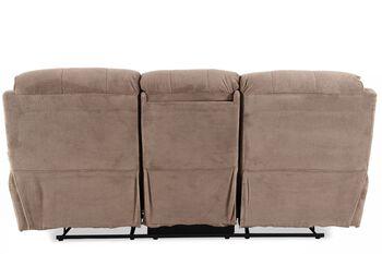 Prime Resources Conrad Dakota Grey Reclining Sofa