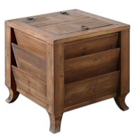 Uttermost Rimmon Wooden Side Table