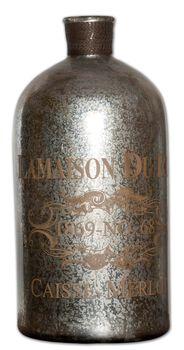 Uttermost Lamaison Mercury Glass Bottle Large