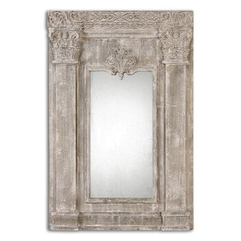 Uttermost Anicetus Stone Mirror