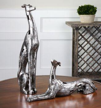 Uttermost Resting Greyhounds Set/2